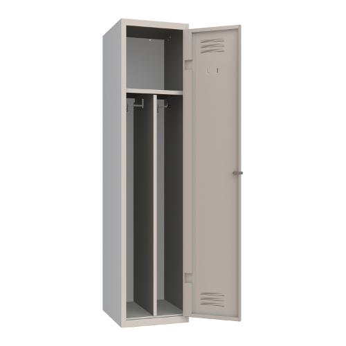 Armet Classic 040 1 door knocked down locker