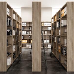 Quadrifoglio library unit