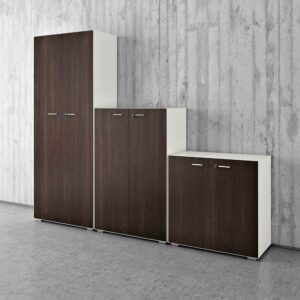 Metal office storage cabinets I Quadrifoglio