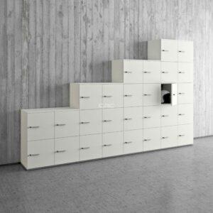 Quadrifoglio lockers